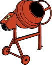 Betongblandare, Lescha 150 liter