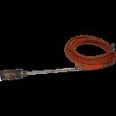 Gasolbrännare, rak med slangbrottsventil