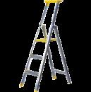 Trappstege 3 steg, plattformshöjd 0,72 meter