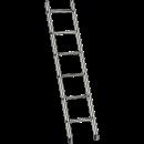 Stege, enkel 4,3 meter