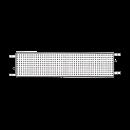 Aluminiumplank 2,5x0,3 meter