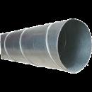 Byggtorkrör 160 mm, med skarvstos, längd 3 meter