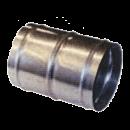 Skarvrör med klammer 102 mm