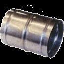 Skarvrör med klammer 152 mm